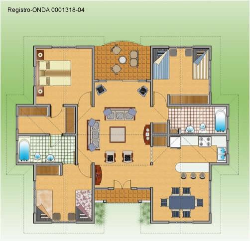 Villa hispaniola 190 000 ville for Plan de villa de luxe moderne