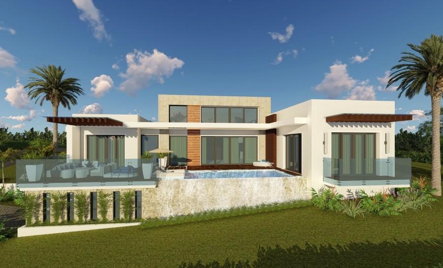 Villa vista oceano in costruzione ville for Costruzione ville moderne